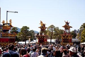 春の高山祭も縮小